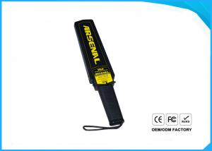 China Handheld Portable Metal Detector Factory and Station Scanning Safety Check Stick on sale