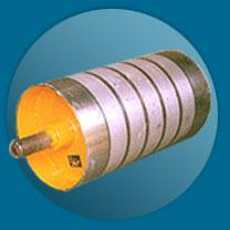 China Magnet Separator Roller For Iron Self-cleaning Over 4000 Gs on sale