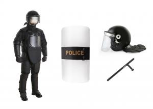 China Police Military Bulletproof Riot Gear Equipment Full Body Armor For Protection on sale