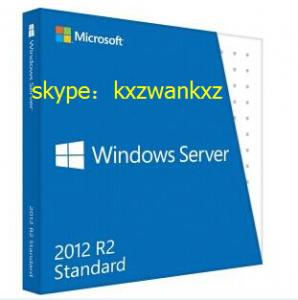 China cheap price Windows Server 2012 Standard R2 retail box, FPP key 2012 Std R2 retail box on sale