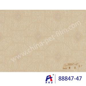 China Bright Color PVC Decorative Film For Wallboard , Thickness Of 0.12 To 0.14mm on sale