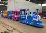 Kids Attraction Colorful Trackless Train Ride Theme Park Electric Train
