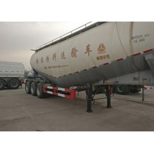 China FUWA Tir Axles Bulk Cement Tank Heavy Duty Semi Trailers 80T Loading Capacity on sale