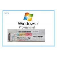 OEM Win 7 Professional Product Key  For Windows 7 Pro Coa 32/64bit Activation Online