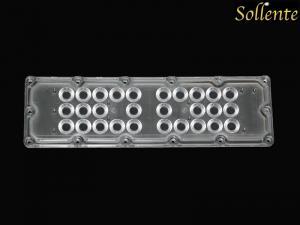 China 90 Degree Array Led Lens For SMD 5050 Adjustable Led Industrial Light on sale