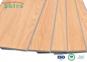 China Easy DIY Installation SPC Vinyl Flooring With Click - Lock Installation System on sale