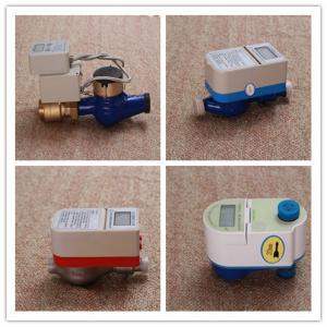 Quality Brass / PPO Smart Water Meter With Brass Valve Control Low Battery Consuming for sale