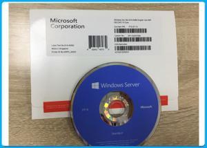 China 100% Activation Microsoft Windows Server 2016 Standard X64 16 Core P73 - 07113 on sale