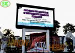Outdoor p8  Full Color LED Advertising Billboard With outdoor led display Anti-Corrosion Iron Cabinet