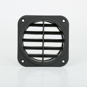 China 90mm Diameter Black Vent For 5KW 12V 24V Diesel Air Parking Heater on Camper Motorhome on sale
