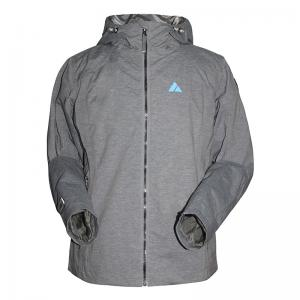 China 5 size 3 color 100% polyester covered with PU waterproof & windproof breathable outdoor wear jacket on sale