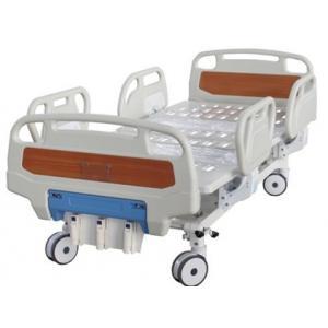 ABS manuel de lit de lit hopistal manuel médical à triple fonction de lit