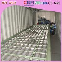 China 1 ~ bloque de hielo industrial del envase diario de la capacidad de la TA 12 que hace la máquina para los supermercados on sale