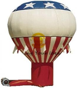 China Colorful Custom Inflatable Advertising Balloon 8m Oxford Fabric For Backyard Parties on sale
