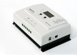 China White Color Off Grid Solar Charge Controller With High Definition LCD Display on sale