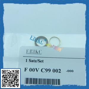 China Bosch common rail injectors sealing washers F00VC99002; fuel injector repair kits on sale