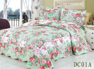 China Cotton & Polyester Patchwork Bedding Sets 3 Pcs 4 Pcs & 2 Pcs Patchwork Polyester Bedding Sets on sale