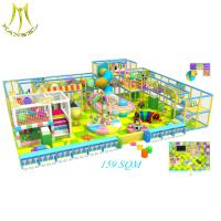 China Hansel commercial kids indoor jungle gym custom indoor soft playground high density foam block on sale