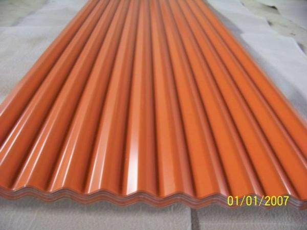 Lightweight Colored Aluminum Roofing Sheet Corrugated 1050 / 1060 ...