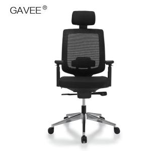 China No Noise Ergonomic Mesh Chair With Aviation Aluminum And Nylon Material on sale