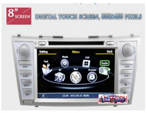 China Car Stereo GPS Headunit Multimedia  for Toyota Camry / Aurion 2006-2011 DVD Player on sale
