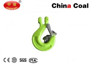 China Industrial Hardware Tools G80 EYE / Clevis / Swivel Selflock Hook Eye Hoist Hook on sale