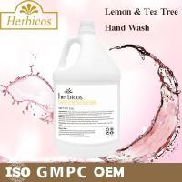 SPA Lemon And Tea Tree Hand Wash Skin Care Lotion 3.78L With Plastic Jar