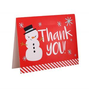 China Birthday Holiday Custom Paper Card With Logo , Recycled Paper Thank You Cards on sale