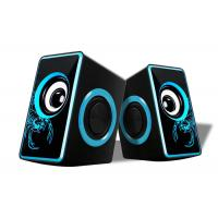 China Small Multimedia Computer Speakers , 2.0 Speakers For Pc Nice Design on sale