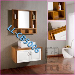 China Manufacturer of Waterproof Oak Bathroom Vanity Cabinet on sale