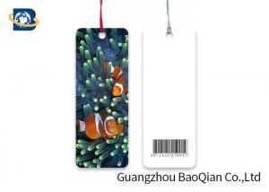 China Plastic 3D Lenticular Bookmark , Custom Bookmark With Tassel Ocean Animal Clownfish Nomo on sale