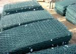 Hot sale Pvc green colors gabion wire mesh gabion basket for river