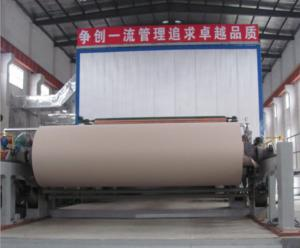 China Cardboard Base Paper Making Machine Price Equipment for Making Corrugated Base Paper Craft Test Liner Machine Price on sale