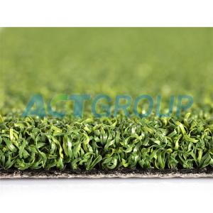 UV Resistant Landscaping Artificial Grass PE Curly Yarn Golf Putting Green