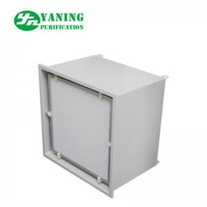 China High Performance Hepa Filter Terminal Box , Hepa Filter Module With Draught Fan on sale