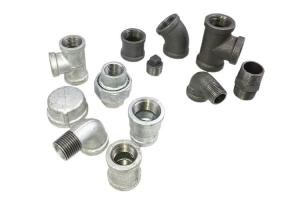 China Brittle Malleable Iron Pipe Fittings Water Quick Connect Pipe Fittings on sale