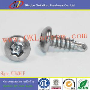 China Torx Tamper Proof Self Drilling Screws on sale
