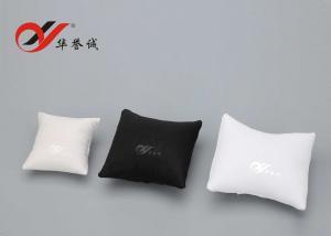 China PUの革腕時計の表示枕、腕時計は鎖/腕輪のためのクッションを置きます on sale
