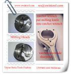 clé ratcheting de raboteuse d'électrode pour les chapeaux de fraisage d'électrodes de soudage par points
