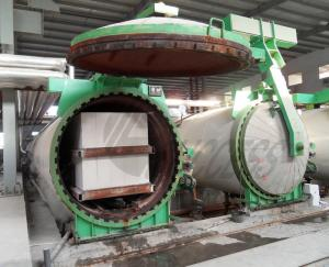 China Textile Sand AAC Autoclave Lightweight , AAC Block Plant Automatic on sale