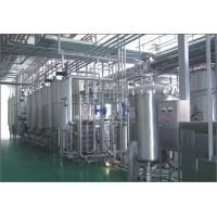 China UHT Sterilizer Soft Drink Production Line , Plastic Bottle Hot Filling Machine on sale