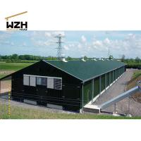 China Steel Structure Broiler Chicken Poultry Farm Shed on sale