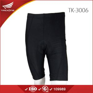 China Hot Team Specialized Mens Black Mountain Bike Shorts with Pad on sale