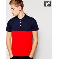 100% cotton color combination polo shirt custom polo shirt  polo t shirts mens