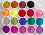 Customized High Purity Non Toxic Cometic / Makeup Glitter Iron Oxide Pigments /PET Glitter Pigment