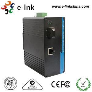 China SC Connector Industrial Managed Ethernet Media Converter Single Mode Fiber To Rj45 on sale