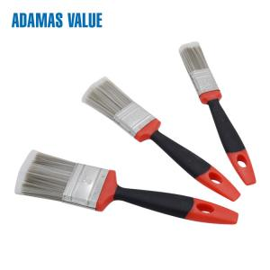 China 13-14MM Thickness Plastic Handle Paint Brushes With Multi Color Handle on sale