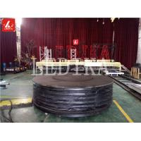 Artistic Rotating And Lifting Stage Q195 Steel Adjustable Stage Platform