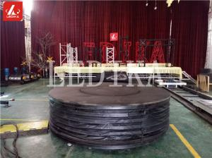 China Artistic Rotating And Lifting Stage Q195 Steel Adjustable Stage Platform on sale