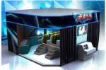China 6 / 8 / 9 / 12 Seat VR 9D Action Cinemas With Multiple LED Display Screens wholesale